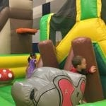 Jungle Toddler Bounce House Inflatable