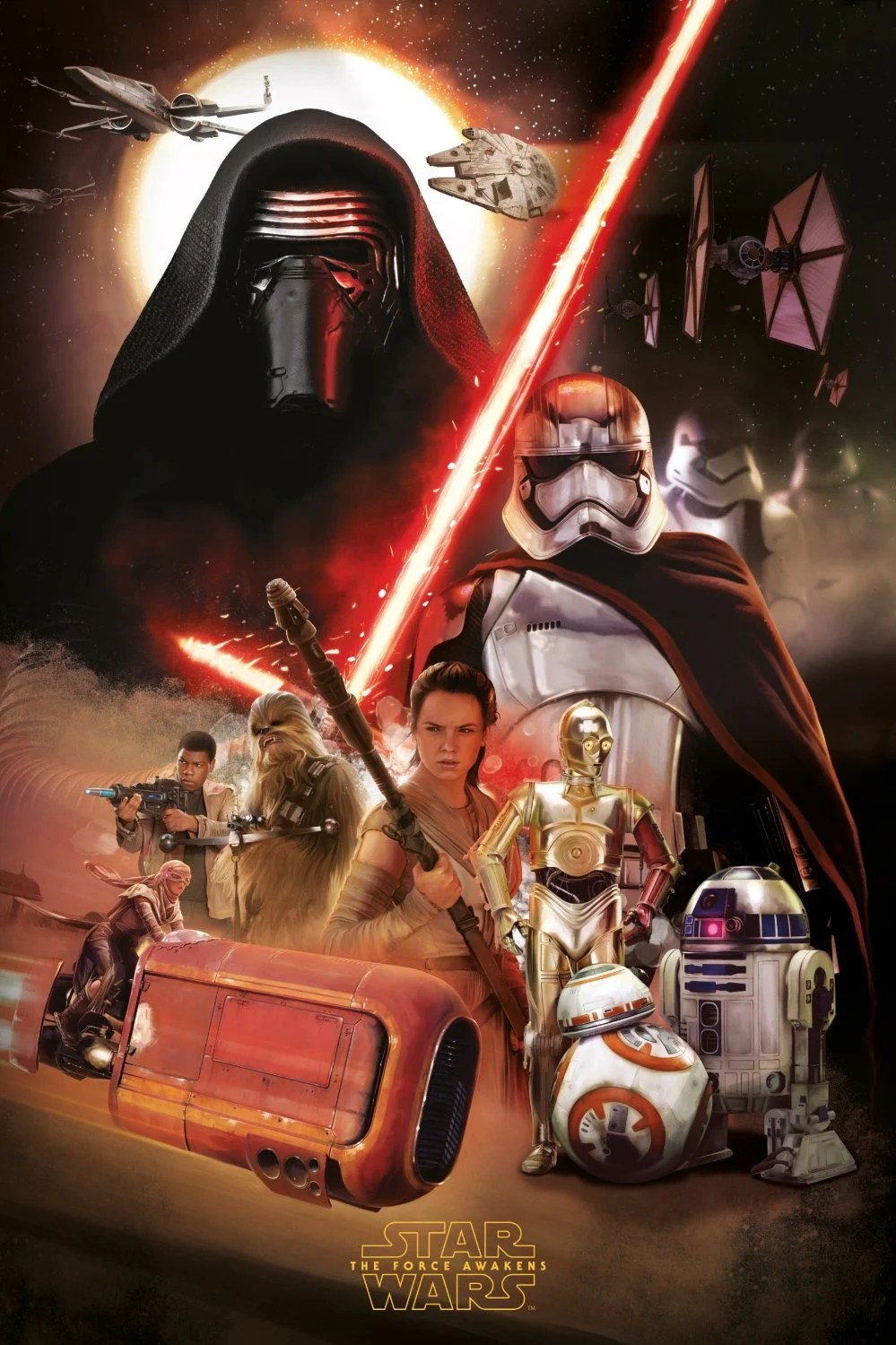 Starwarsposterartforceawakens