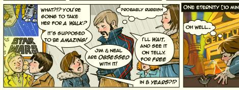 between wars comic detail - star wars in 1977