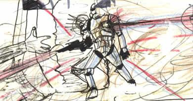 star wars hidden drawing