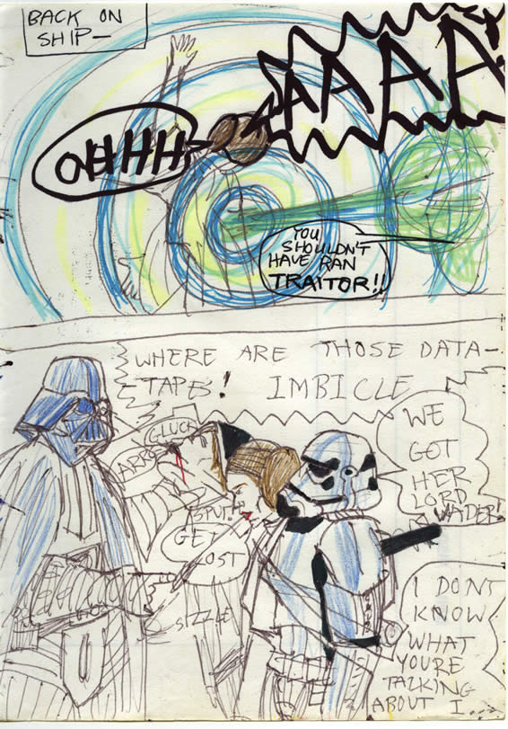 019: Leia. She's a bit rough