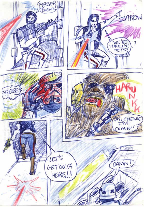 "075: ""Fire her up Chewie – we're haulin' jets!"""