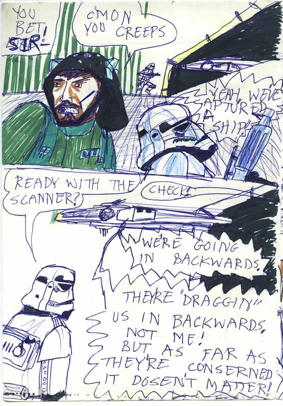 """093: """"C'mon you creeps!"""" Millennium Falcon Captured!"""