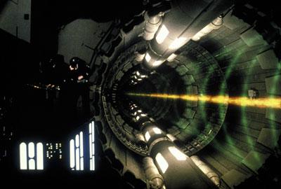 the death star planet destroying laser