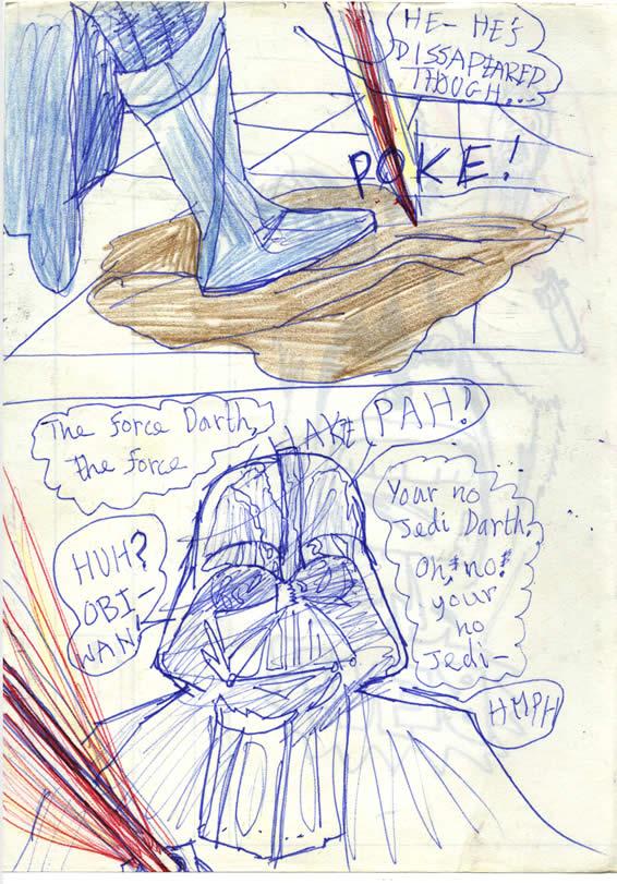 152: Obi Wan disappears!