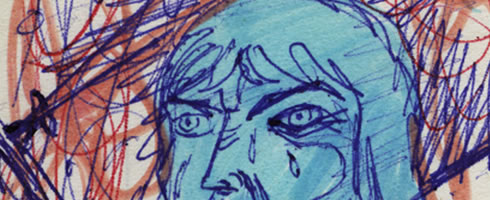 luke skywalker comic page detail image