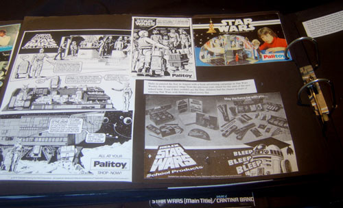 star wars scrapbook