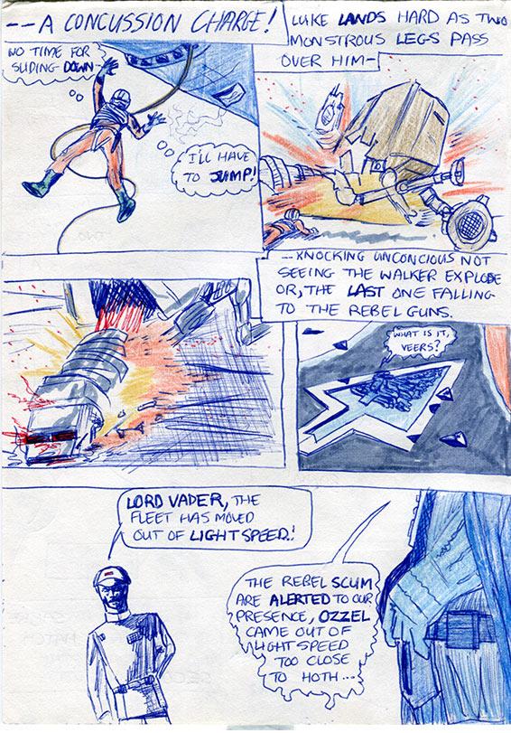24: Luke Destroys the AT-AT Walker!