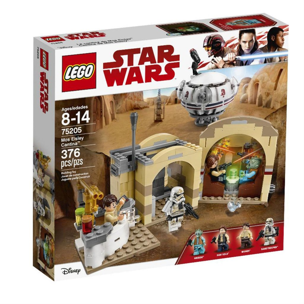 New LEGO Cantina and AT-ST and news about The Last Jedi 3D glasses ...