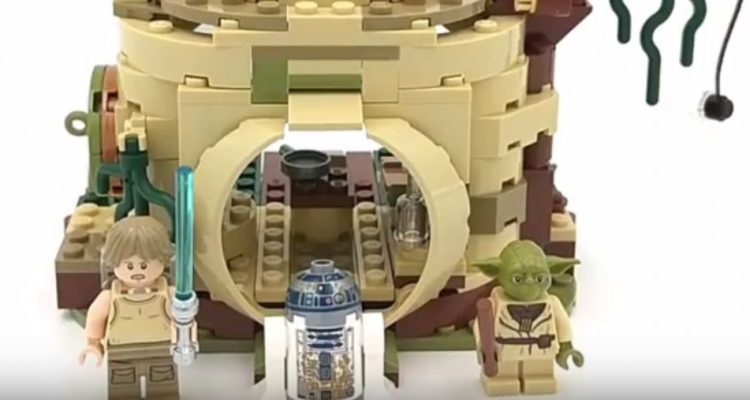Lego 75208 Yoda S Hut Speed Build Video Star Wars Awakens