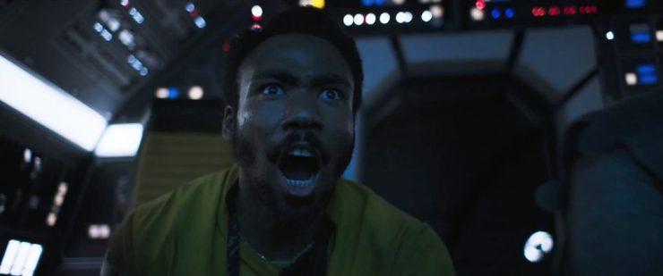 Zoals Lando's blik hier laat zien is dat ook hier goed advies.
