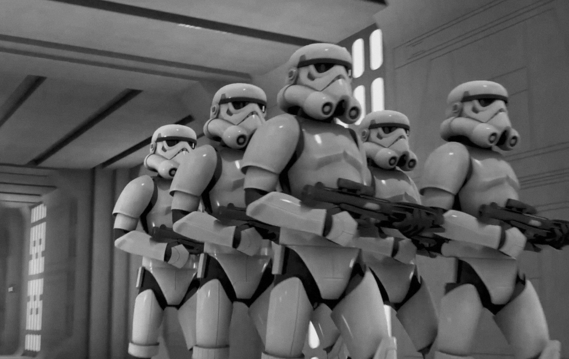 From World War To Star Wars Stormtroopers
