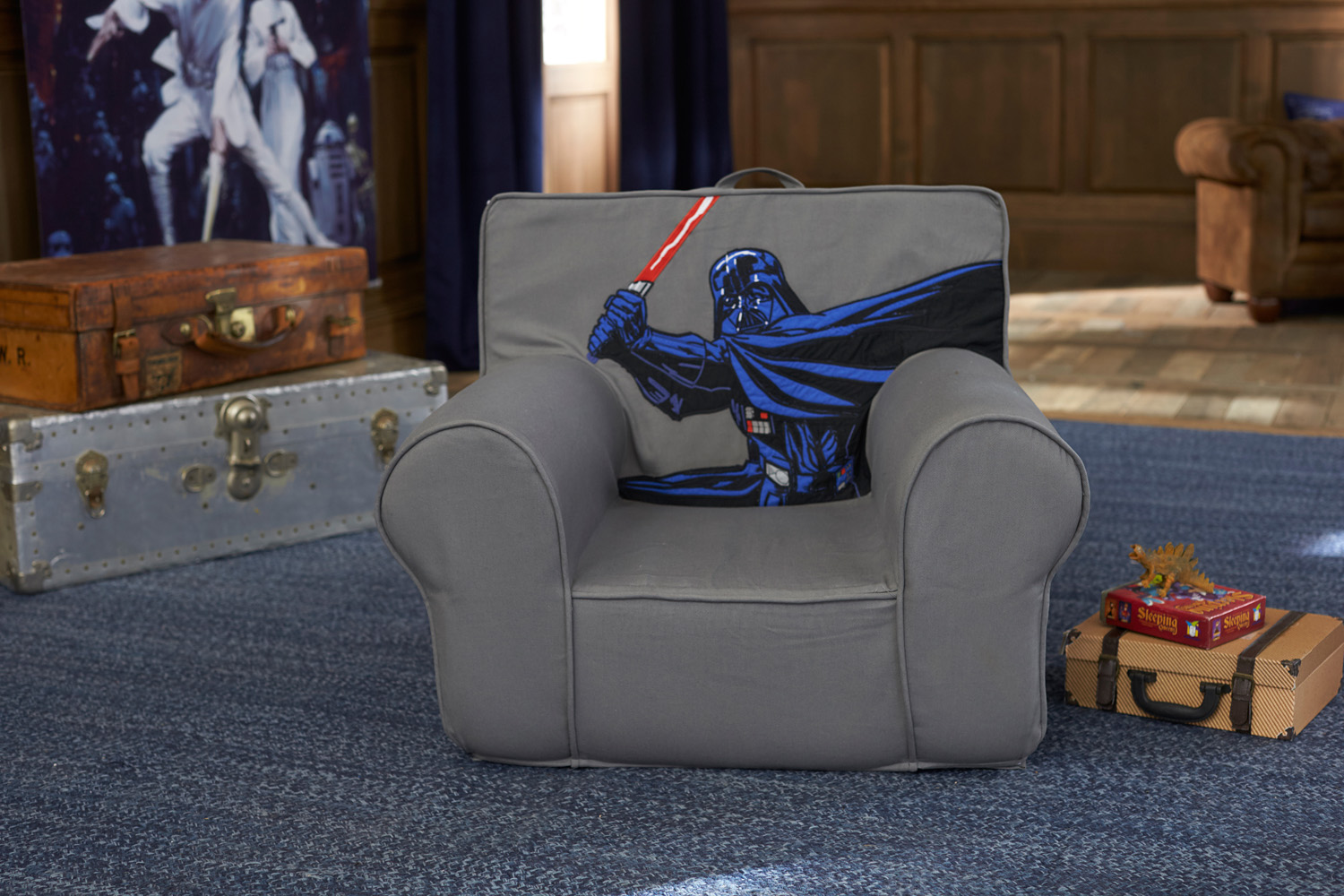 anywhere chair insert portable outdoor chairs pottery barn star wars collection preview starwars