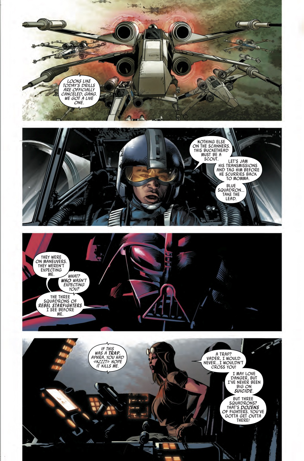 Its Sith Vs Rebels In Vader Down 1 Exclusive Preview