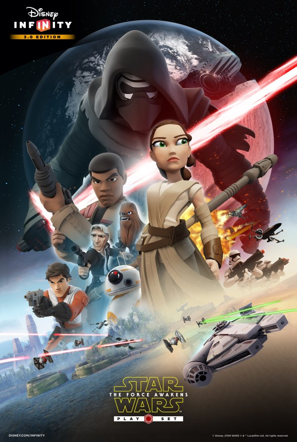 Star Wars Force Awakens Play Set Disney Infinity
