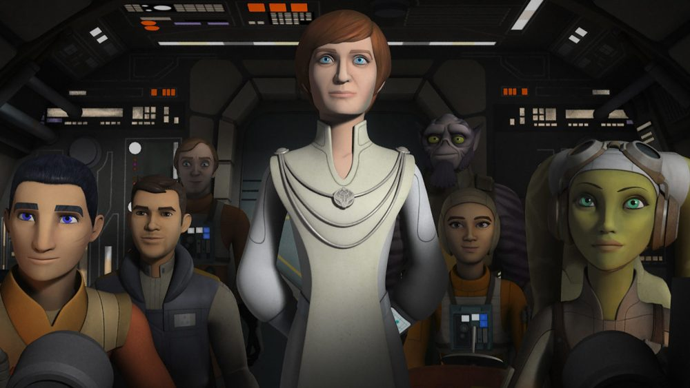 Image result for mon mothma star wars rebels