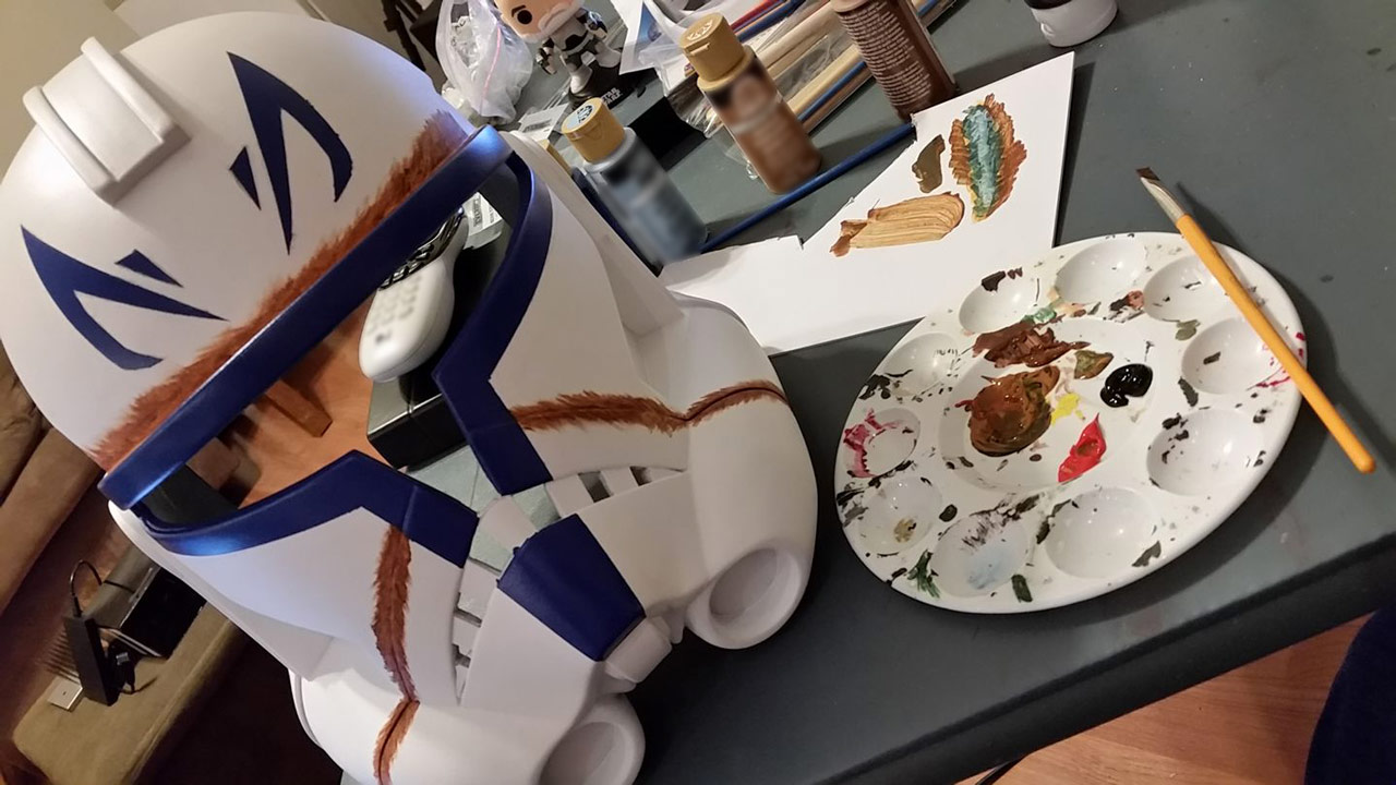 Galactic Costuming Emily Schrams Cool Captain Rex Cosplay
