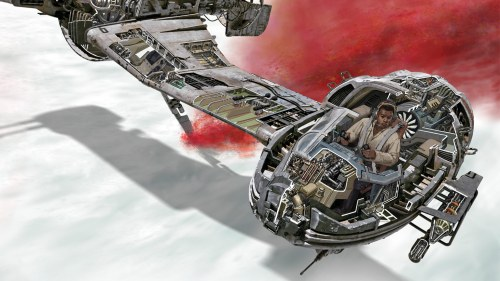 small resolution of step inside the galaxy s newest ships and vehicles with star wars the last jedi incredible cross sections exclusive interview