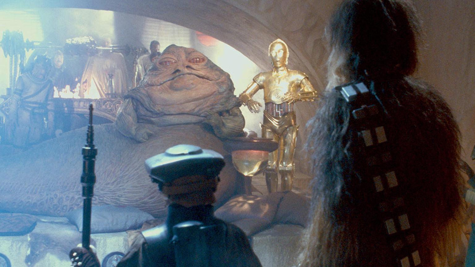 Last Shot Author Daniel Jose Older On Why Jabba S Palace Is His Favorite Star Wars Scene
