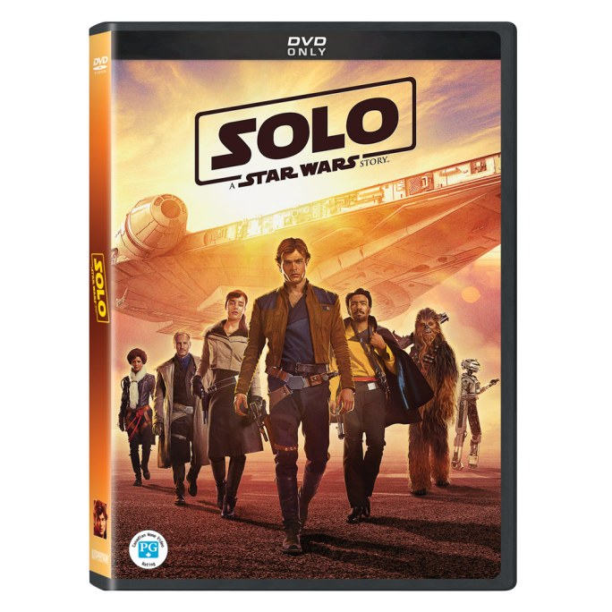 solo dvd Solo: A Star Wars Story Home Video Release Date Announced
