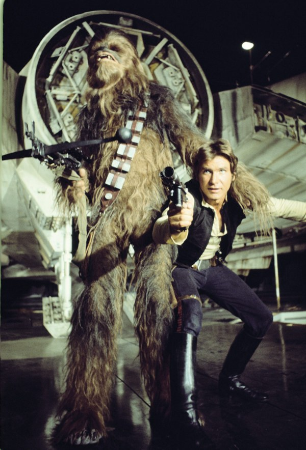 Star Wars Han Solo and Chewbacca Art