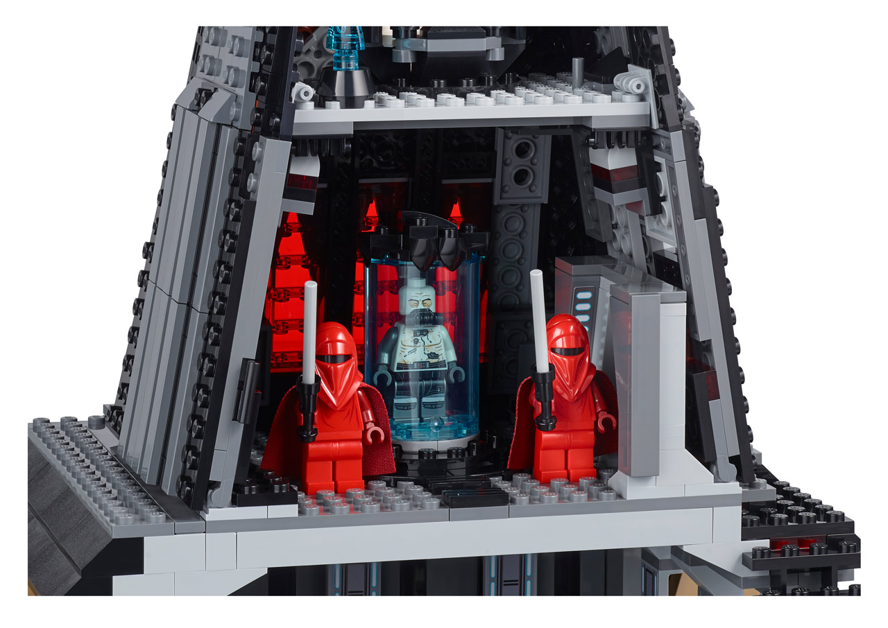 LEGO Turns to the Dark Side with New Vader's Castle Set