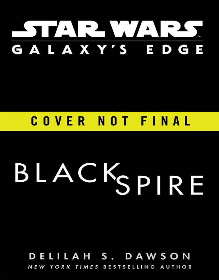 The cover for Star Wars: Galaxy's Edge Black Spire.