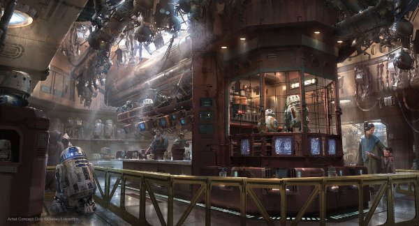 Aliens Droids And Shops Of Star Wars Galaxy Edge