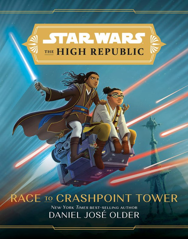 Race to the crashpoint tower cover