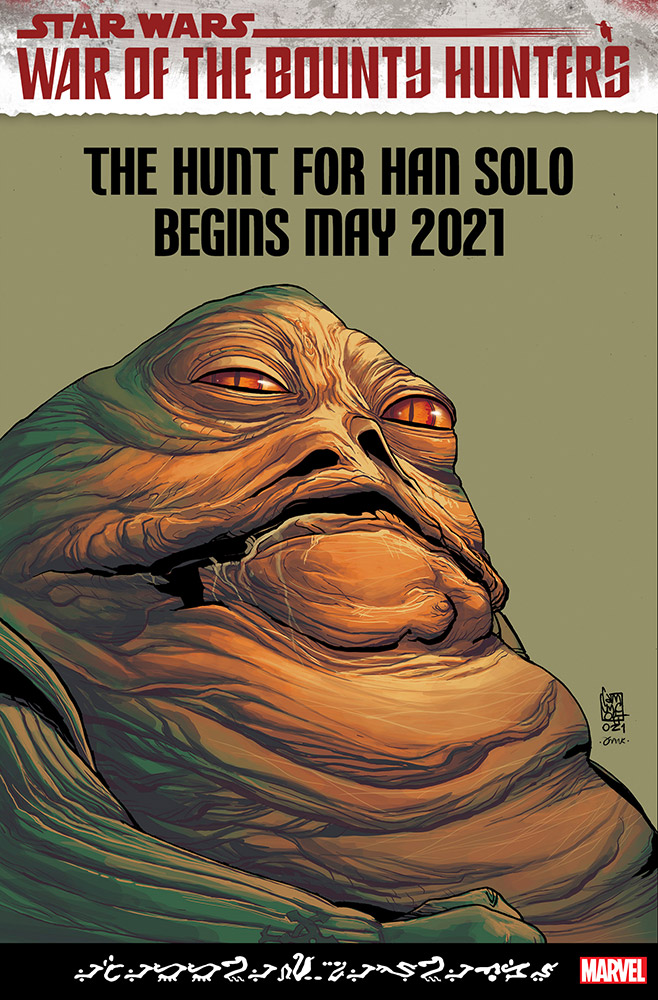 Jabba the Hutt de Marvel
