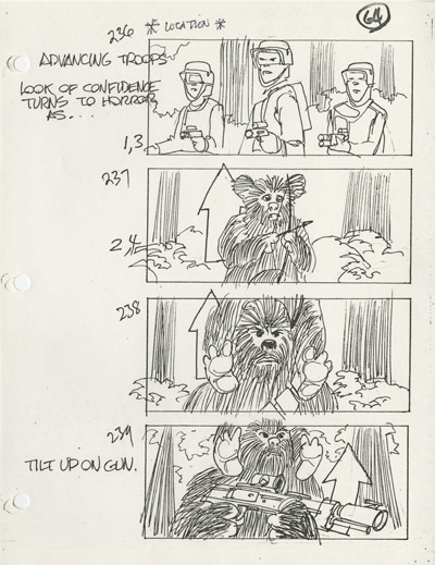 Star Wars Storyboards—The Prequels Book Announced