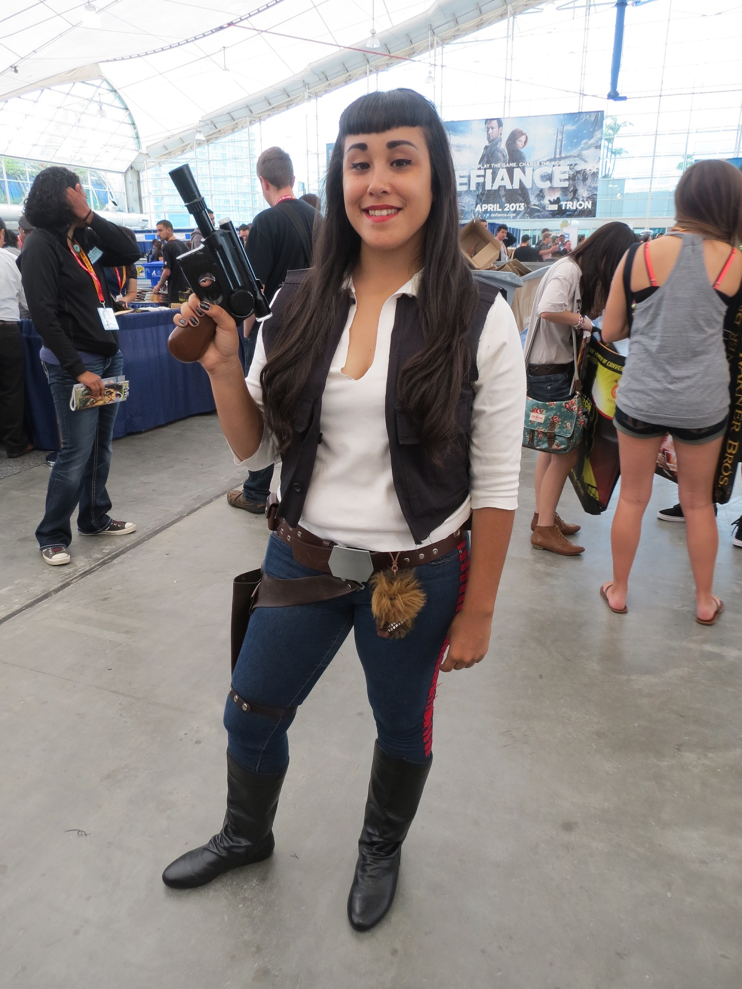female han solo costume