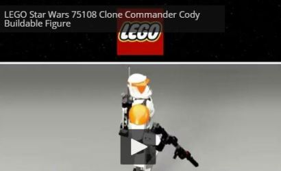 LEGO Star Wars Commander Cody Constraction Figure