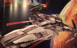 Erstes vollständiges Bild des LEGO Star Wars 75096 Sith Infiltrator