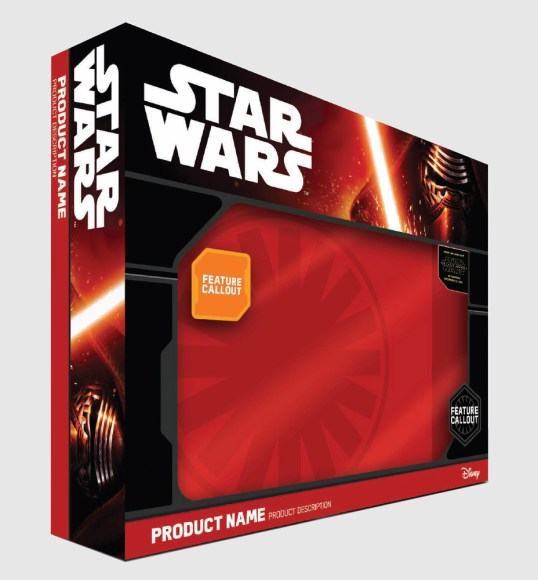 The Force Awakens Packaging
