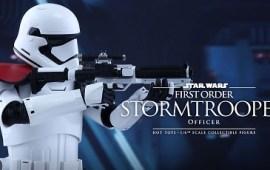 Hot Toys First Order Stormtrooper Officer vorgestellt!