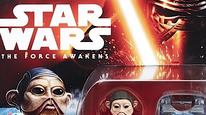 Neue Hasbro The Force Awakens 3,75 inch Figuren