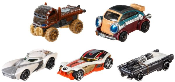 Hot Wheels Star Wars 5-Pack 2016