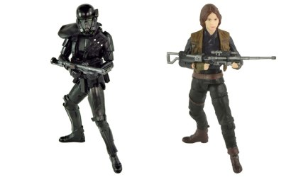 #shortcut: Hasbro Black Series Rogue One 3.75″ Figuren – neue Bilder