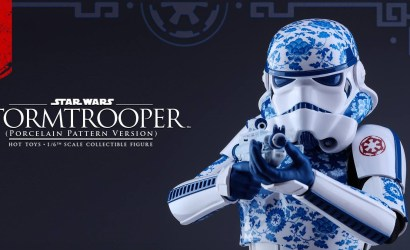 Hot Toys 1/6 Scale Stormtrooper Porcelain Pattern Version
