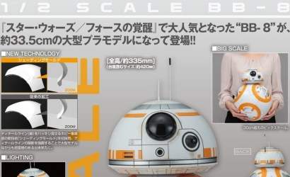 #shortcut: Bandai 1/2 Scale BB-8 endlich offiziell präsentiert!