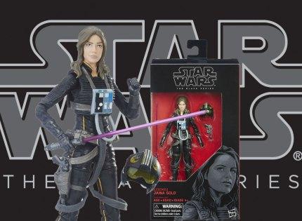 Alle Infos und Bilder zur neuen Black Series Jaina Solo 6″ Figur!
