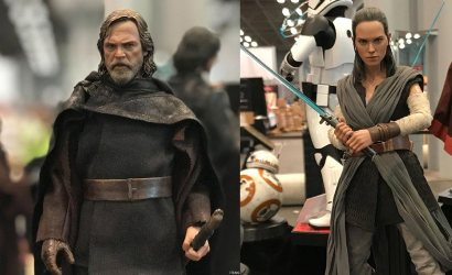 Hot Toys Rey und Luke Skywalker 1/6 Scale Figuren zu The Last Jedi vorgestellt