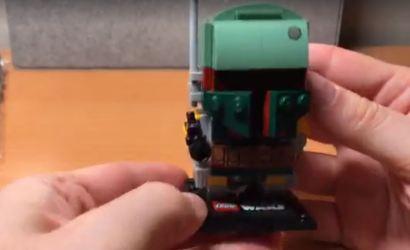 Live-Build-Video zum LEGO Star Wars NYCC 2017 Brickheadz Set