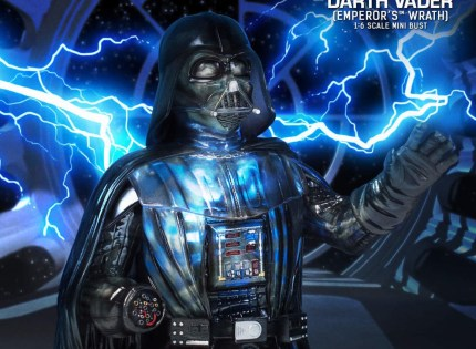 Gentle Giant Darth Vader Emperor's Wrath Mini-Büste vorgestellt
