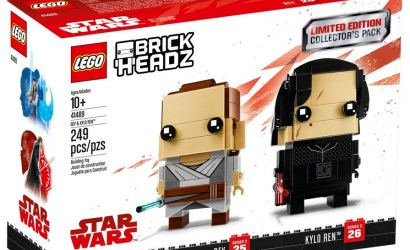 The Brickshow zeigt Review zum LEGO Star Wars Rey & Kylo Ren Brickheadz-Set