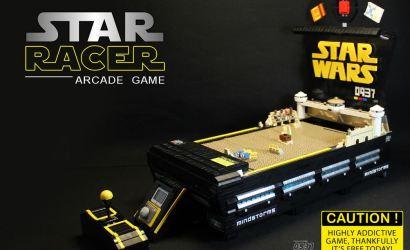 LEGO Star Wars MOC: Geniales Pod Racer Arcade Game