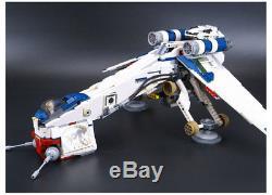 Custom Star Wars Republic Dropship With At Ot Walker Lego