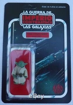Vintage Original Star Wars Lili Ledy Yoda Imperio Esb