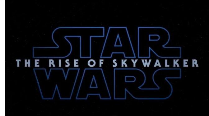 Disney presenta el póster de The Rise Of Skywalker en la D23 Expo 2019